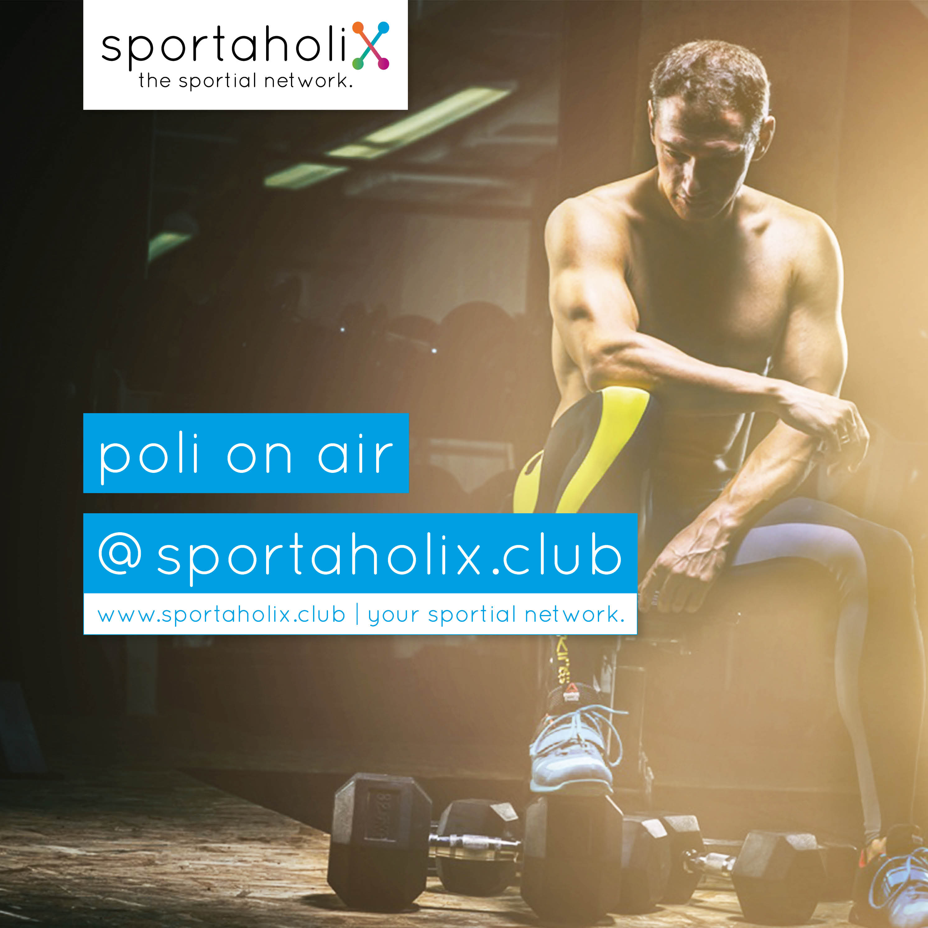 poli on air @ sportaholix.club - Der Business-Podcast für alle Fitness-Professionals - FITNESS I BUSINESS I ERFOLG