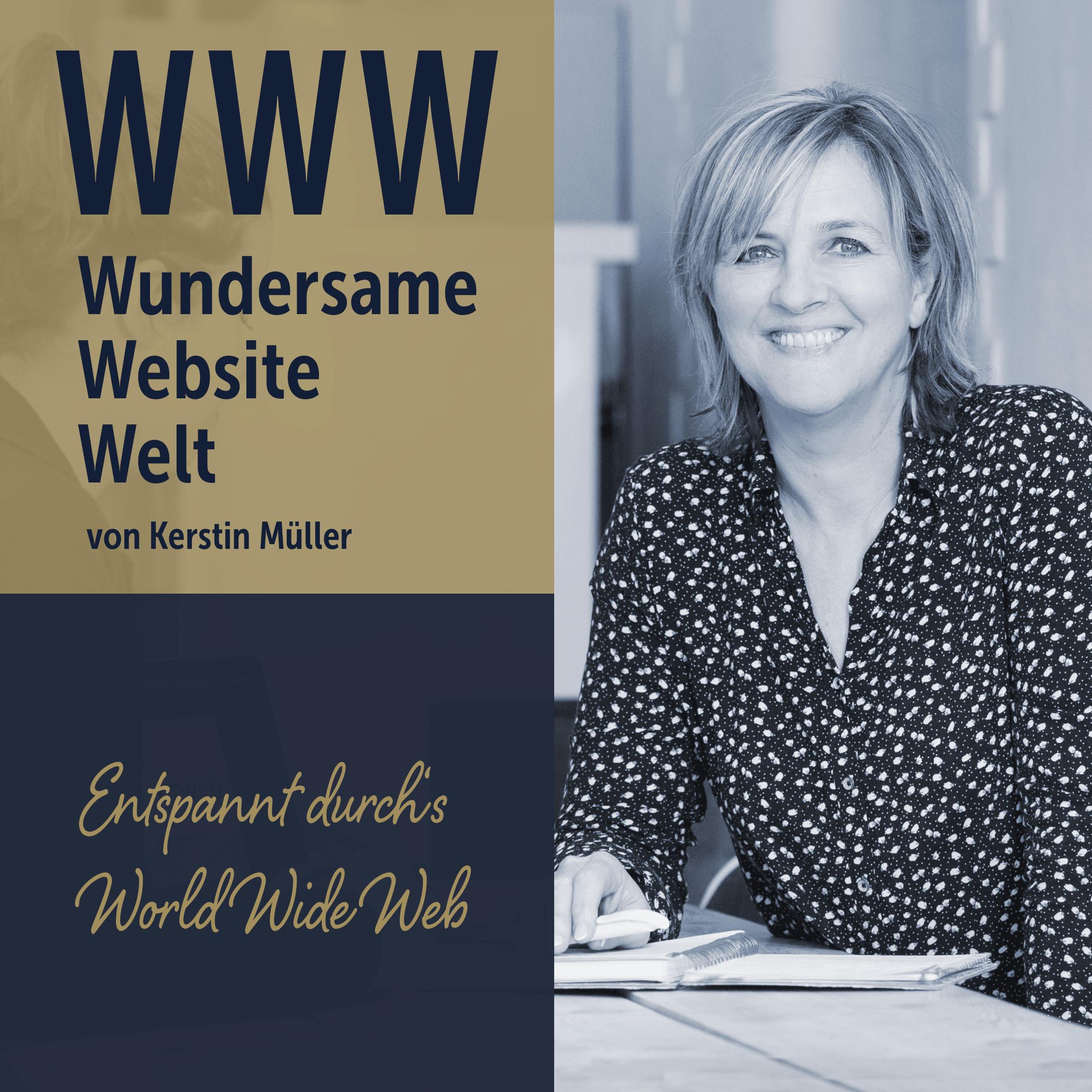 WWW Wundersame Website Welt. Entspannt durchs World Wide Web.